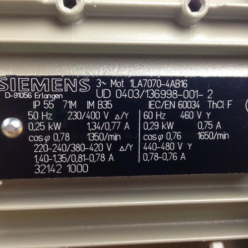 1LA7070-4AB16 Siemens Image 2