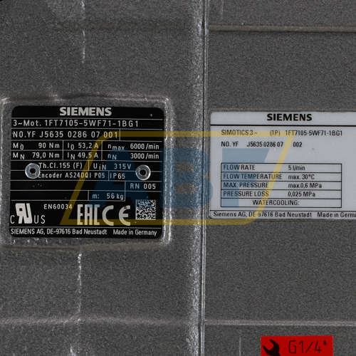 1FT7105-5WF71-1BG1 Siemens