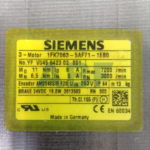 1FK7063-5AF71-1EB0 Siemens