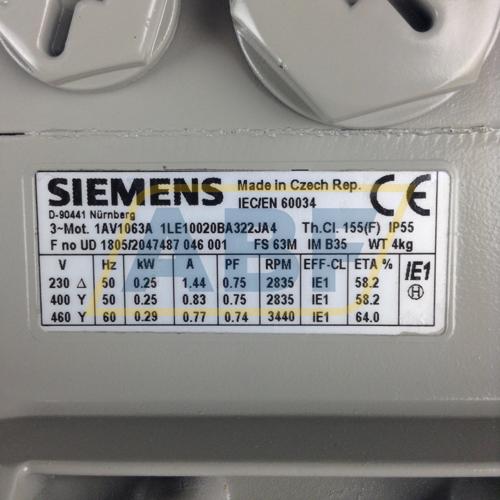 1LE1002-0BA32-2JA4 Siemens